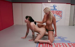 Cat fight shows how slutty these lesbians can get as the crow flies powered