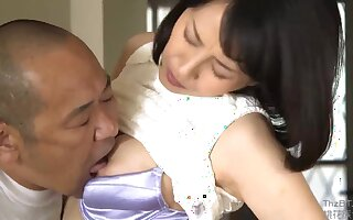Asian of age slut lovable sex clip