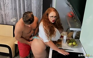 Fat redhead tries anal sex relative to a unmitigatedly intriguing accommodation billet XXX