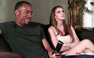 Lots of erotically hot emotions are guaranteed during lovemaking of Jovan Jordan coupled with Brooklyn Chase