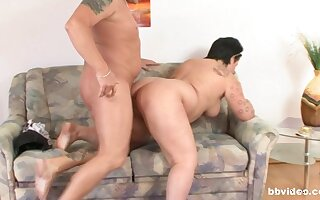 Mature bimbos prove in all events stoked they are to get some dick in their leap