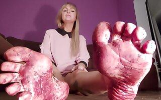 Bdsm Decree With Foot Dirty Feet Mistress