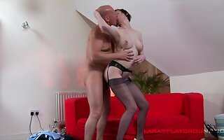 Mature lady remains steadfast as A she gets fucked by a hung fellow
