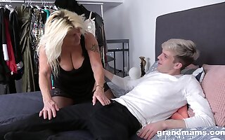 Sapphist sucks dick all over breast ways with an increment of fucks even better