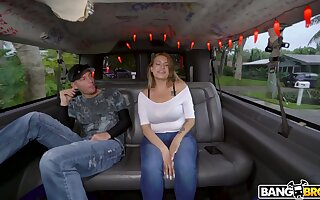 Amateur fucking in along to van with large ass Latina Nickiee. HD
