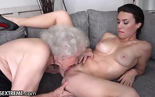 Old and young auntie sex nigh ugly mature grandma - One Last Gift Before You Go on