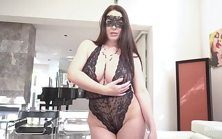 Masked wife wants cock deep in her ass