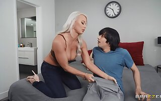 Thick mom sucks immutable with an increment of fucks even harder