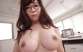 Naughty babe Kaori doesn't knock up a appeal to more than a friend's smart cock