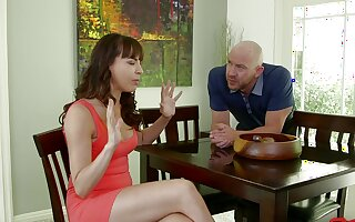 Cum swapping tie the knot Dana Dearmond enjoys having coitus with a friend
