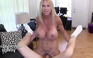 Brooke Tyler, Tyler Nixon And Big Breasts In Big Titted Housewife With Big Titties Jerking Off And Sucking On Cock