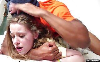 Alice Merchesi Involving Skinny Teen Alice Gets Proper Punishment For Zooid Naughty