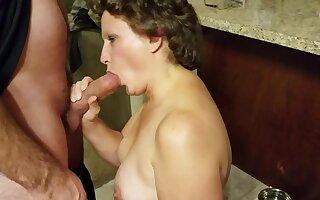 Bitch Tie the knot Sucks Throb Hard Penis