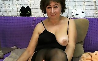 Depraved aged lady