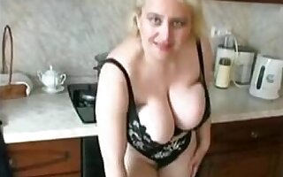Russian busty mature