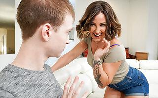 Betty Foxxx & Alex Jett in Spanish Rose - MommyBlowsBest