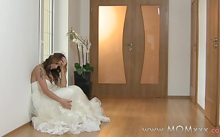 Mom xxx: Wife to be get fucked at her wedding