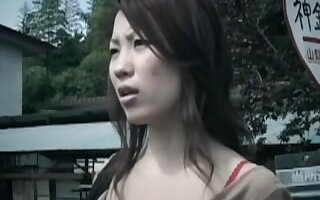 Japanese mom hairy cunt drilled