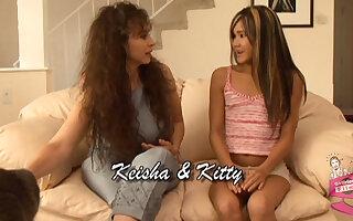 Keisha & Kiesha & Kitty in Lesbian Seductions #08, Scene #02
