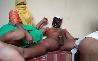 Indian Bhabhi Group sex Stepson Fucking Mom In Home