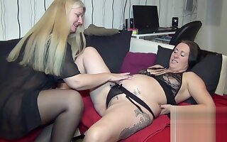 Pregnant girlfriend, fisted hard!