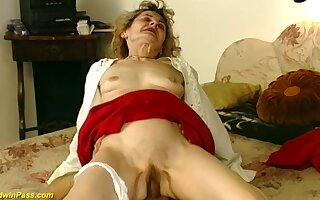 Hairy bush 81 years old german grandma gets wild and abyss fucked in crazy intercourse positions