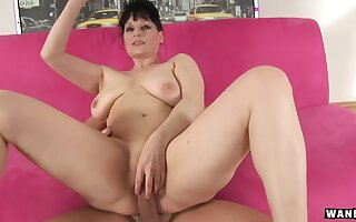 Czech Mature with big tits fucked hard in pain in the neck